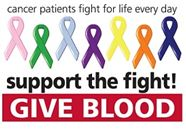 give blood cancer