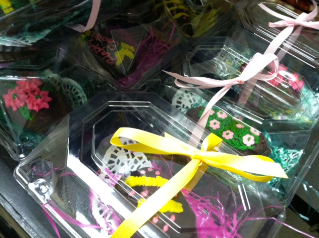 United Methodist Women will be selling hand-made, decorative Easter eggs at church this Sunday, April 13.