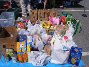 Walk and Food Drive