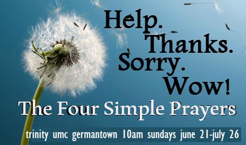 A Summer of Prayer – Trinity United Methodist Church Germantown MD