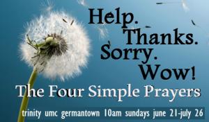 four prayersrev