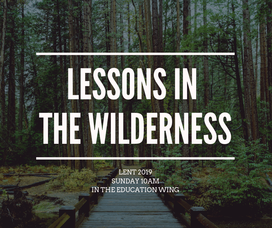 Lessons in the Wilderness